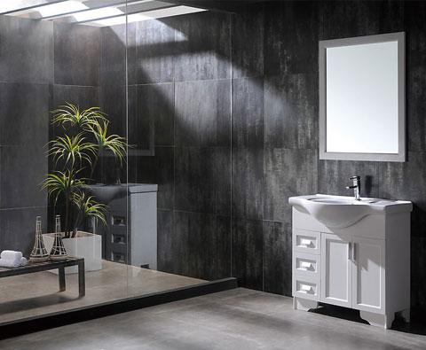 复古帅气工业风 8款酷感十足卫生间设计
