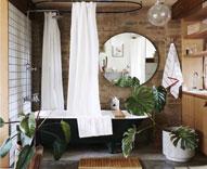 8个原木风卫浴间 满满的古朴情意