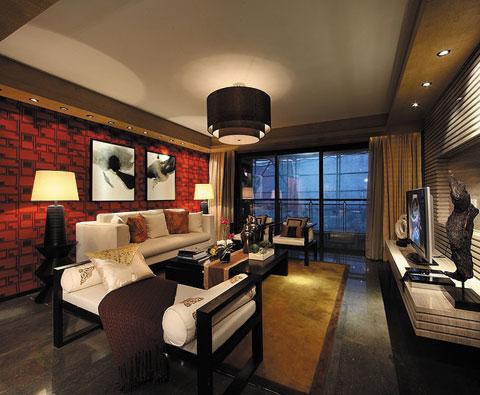 新中式风格瓷砖秀美兼柔的时尚大赏