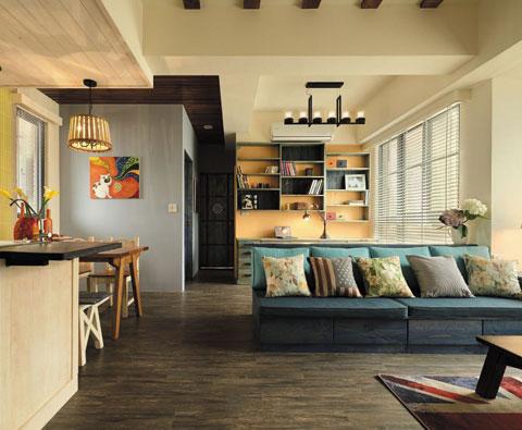 以瓷砖之名 打造温馨田园风的家居空间