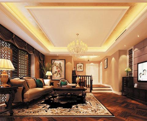 木纹砖融入欧式奢华豪宅的美学图赏