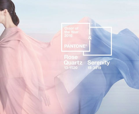 安华瓷砖:2016流行色 静谧蓝&水晶粉的时尚秘密