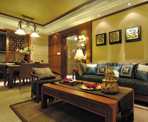 东南亚风格原色设计 家居空间的有味呈现