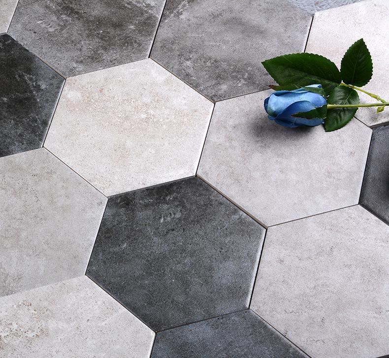 好看的设计都用六角砖
