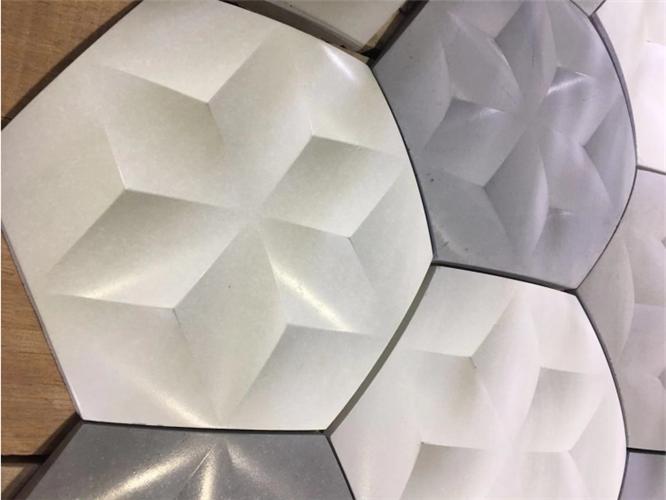 設計周上展出的這些新材料,或影響瓷磚市場?