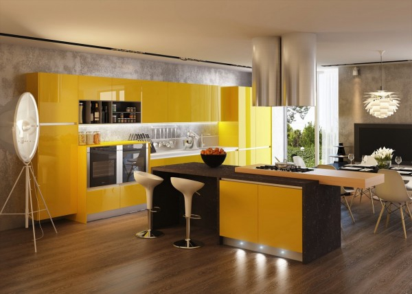 11个空间图看厨房用墙砖什么颜色好看