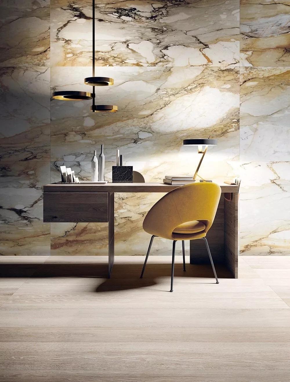 优雅与精致的艺术合体非瓷砖背景墙莫属?