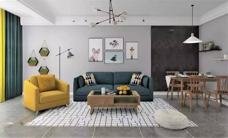 合理的軟裝色彩搭配成就完美的空間藝術 家居課堂