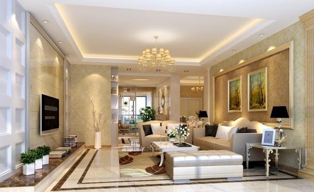 客厅装修用瓷砖好还是地板好?