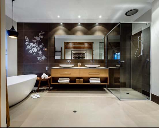 酷暑天气沉静选择 东方韵味浴室
