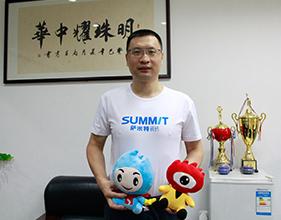 萨米特瓷砖赵宇:联合新浪装修抢工长,为消费者提供极致服务
