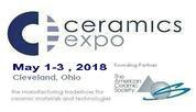 2018美国工业陶瓷展览会(Ceramics Expo)