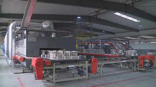湖南首条陶瓷等静压自动化生产线在醴陵启用