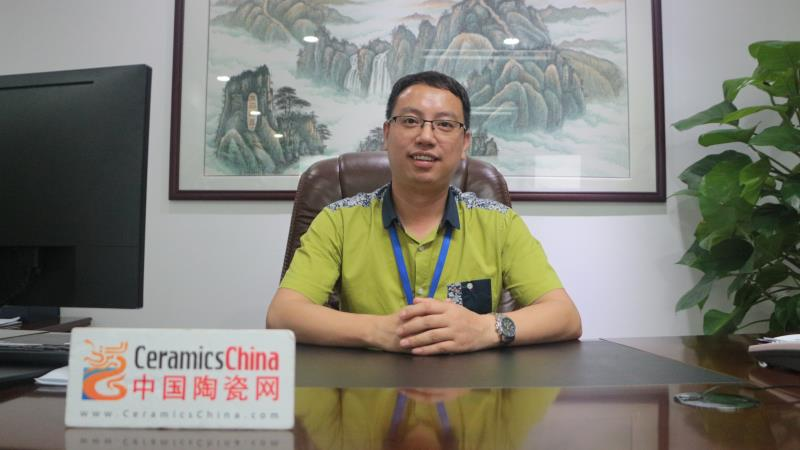 访澳翔瓷砖营销总经理——赵银