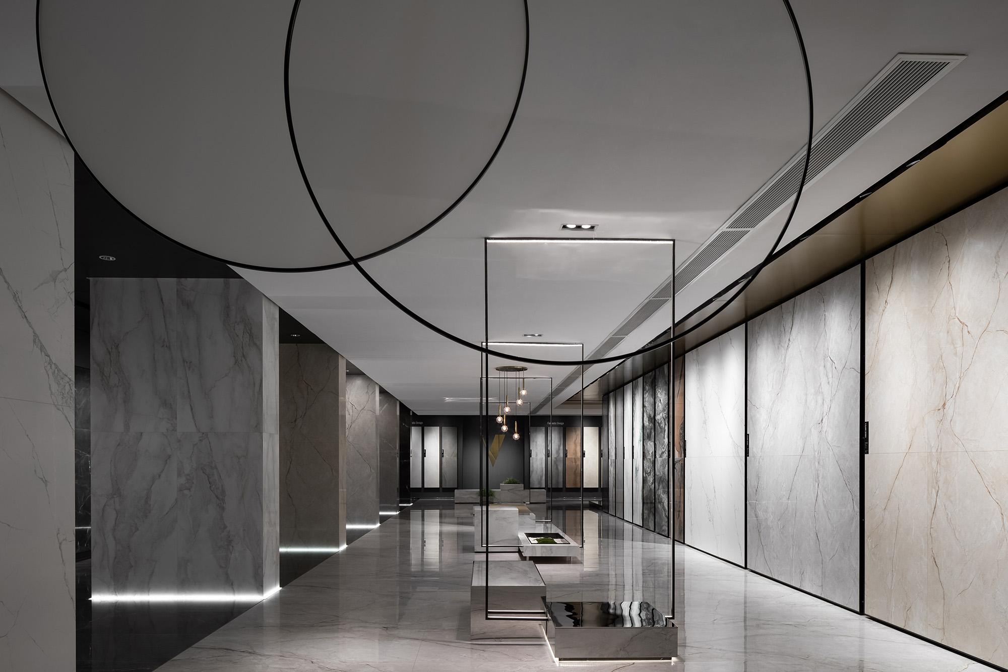 VIRG casa总部展厅:让意式美学在东方情境中自然流淌