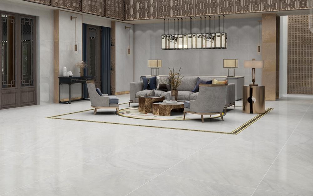 玉石瓷砖的国际空间演绎,美轮美奂