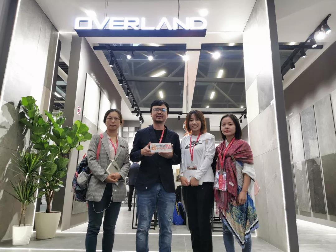 9月23日中陶網走訪歐文萊參展展位