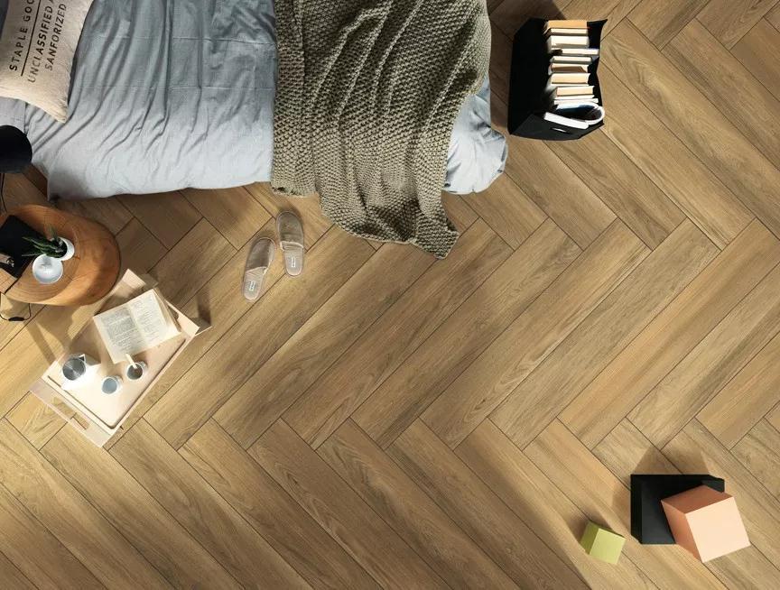 木纹砖只能做到3d立体?开玩笑,我都闻到木香了!