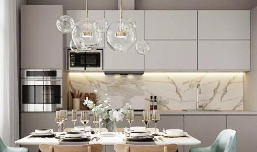厨房瓷砖这样搭配,简直不要太完美?。?!
