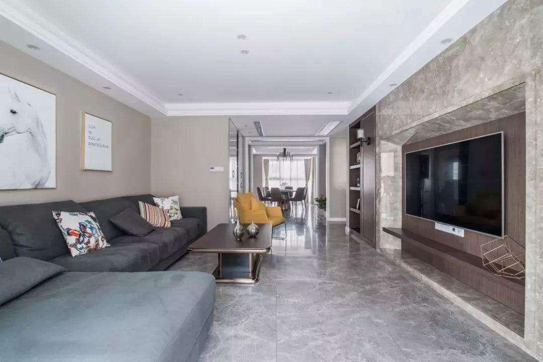 你家里的客廳裝修用灰色地磚后悔了嗎?!
