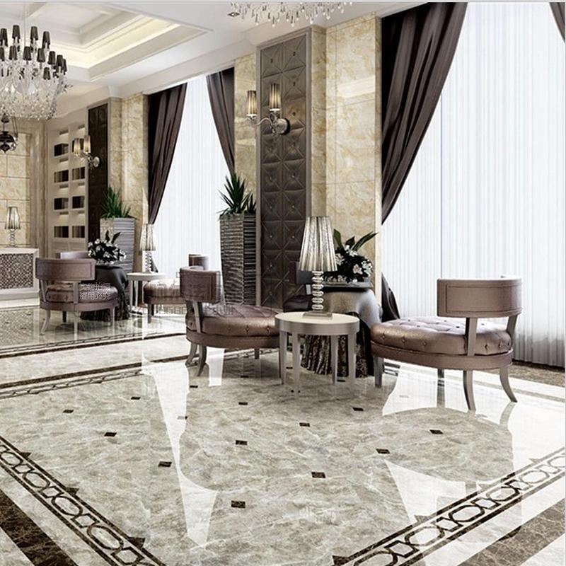 客厅地砖效果图