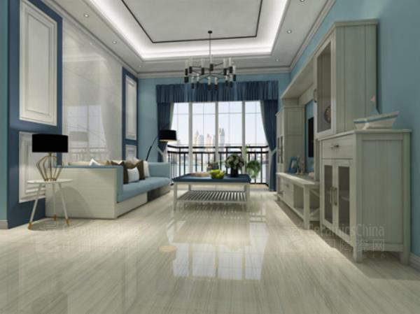 箭牌瓷砖:一种客厅,n种设计方案