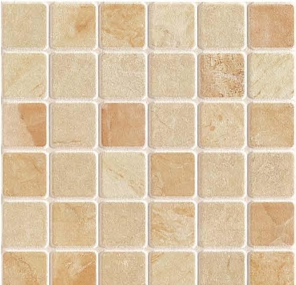 二、防滑地板砖工艺质量选择方法 1.看表面:纹路清晰统一、特殊花型凹凸一致,色彩饱满,无色差。 2.看尺寸:尺寸规整、无翘边翘角现象。 3.看胚色:胚色自然、厚度均匀,无明显的缺陷。 4.看包装:包装精美,包装附有检验报告、合格证等。 5.看厚度:厚度大于8,施工难度大、不耐久。 6.