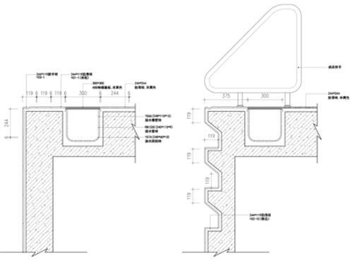 2)瓷砖设计排版   瓷砖设计排版是高标准游泳池瓷砖铺贴的一个