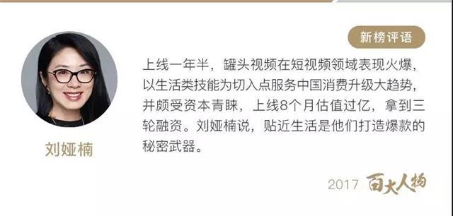刘娅楠与罗振宇、马东、吴晓波、咪蒙、樊登等