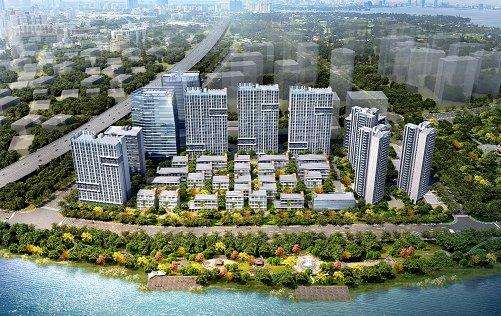 碧桂园希望借世纪滨江项目打造成佛山禅城区地理位置最佳,景观最好