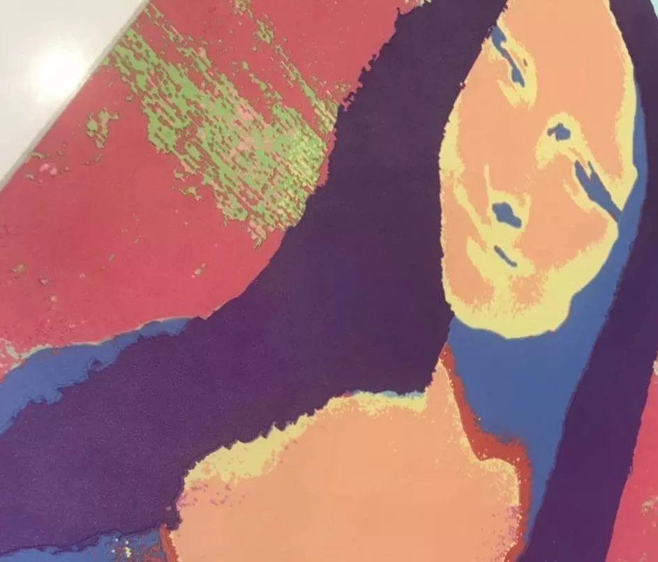 蒙娜丽莎瓷砖上的细节体现