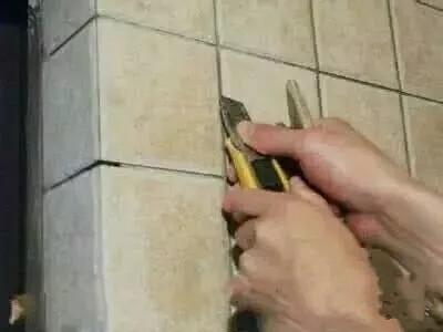 瓷砖美缝步骤