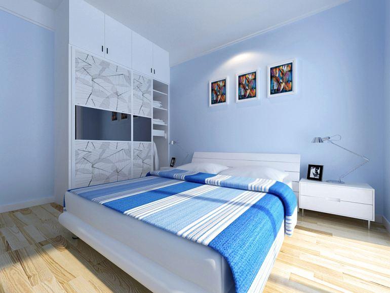 卧室装修效果图简约是什么样子的?