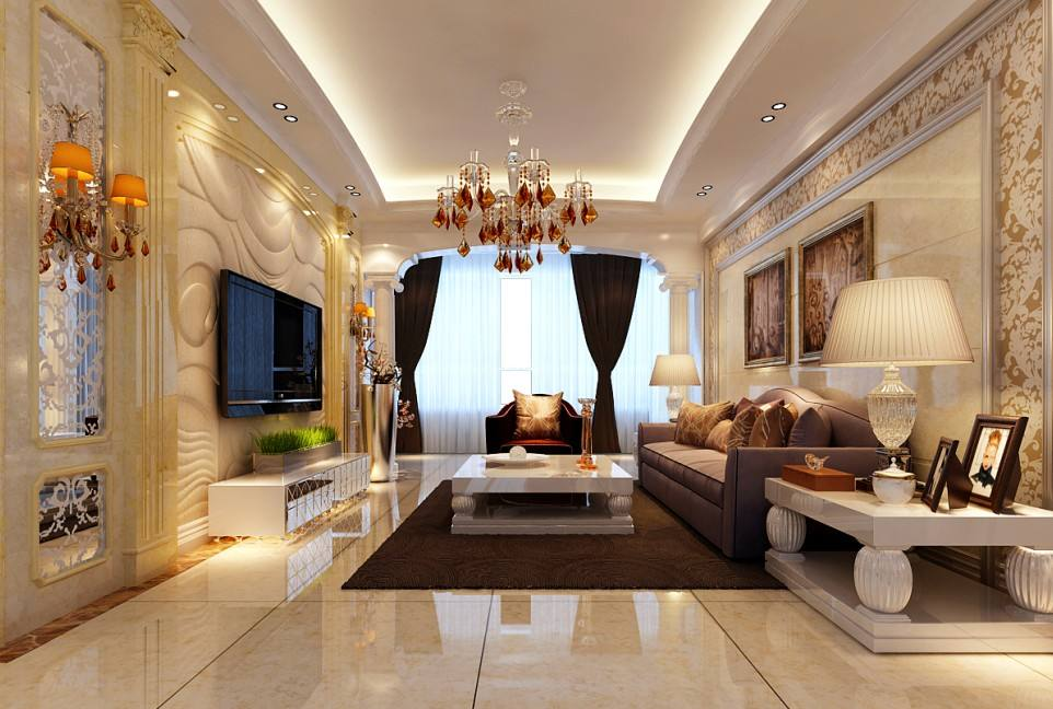 欧式客厅装修效果图怎么样?