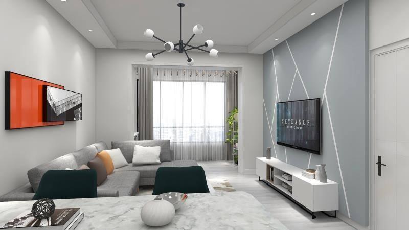 客厅装修效果图简约是怎样的?