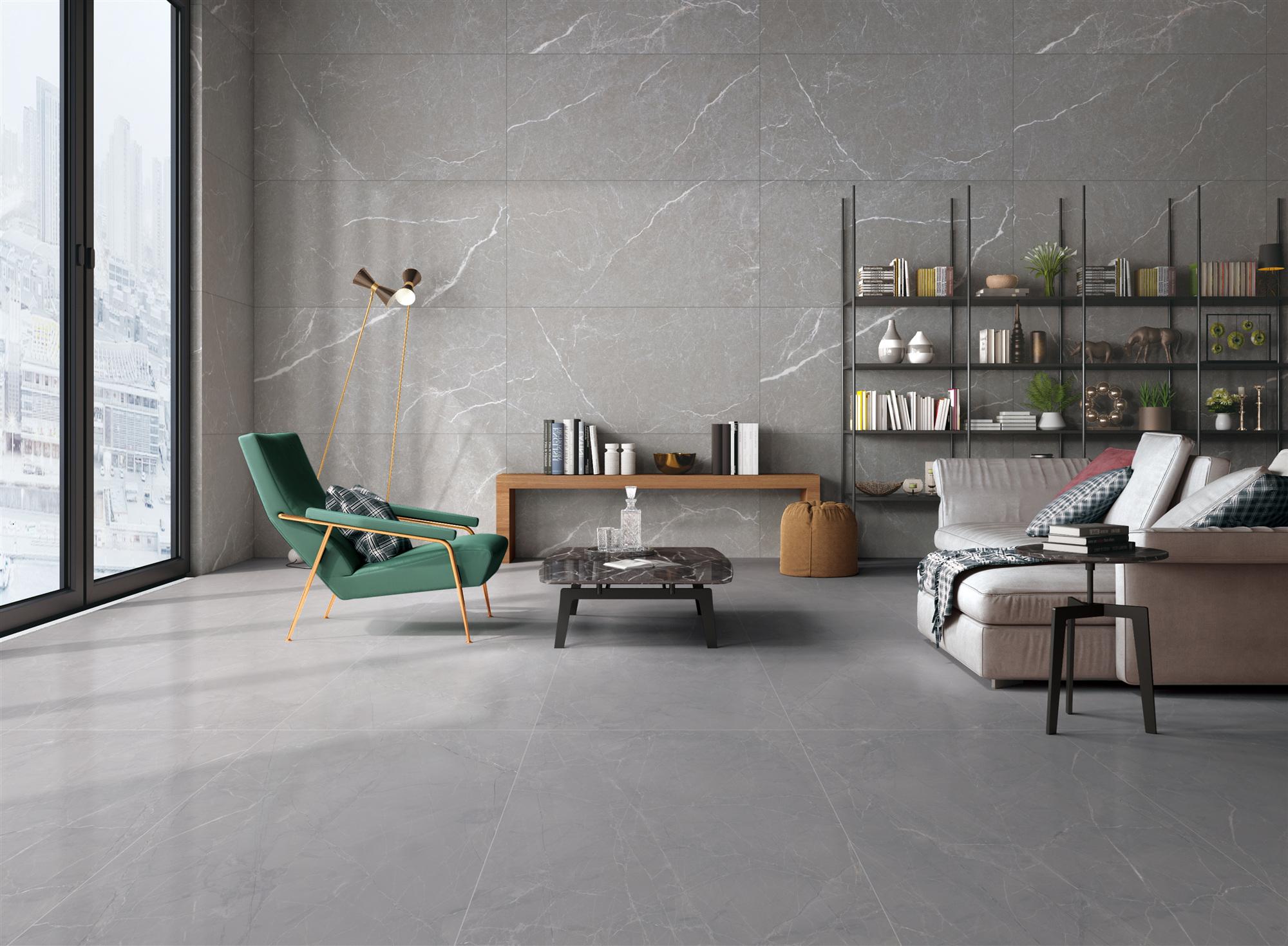 蒙地卡罗陶瓷融界臻石系列测评:素色瓷砖也能营造奢华空间