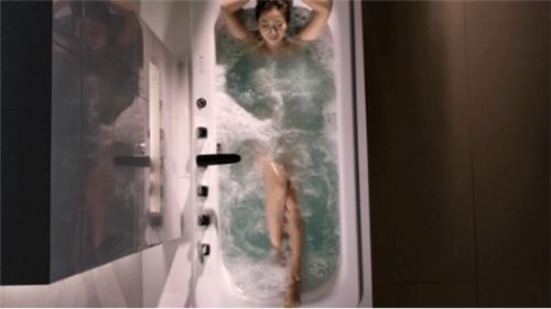 恒洁微课堂 | 选对浴缸,在家也能做SPA