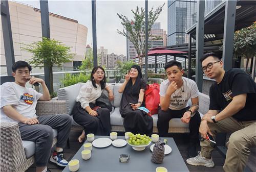 玛缇游学班   成都设计「天团」低调「宴」遇上海