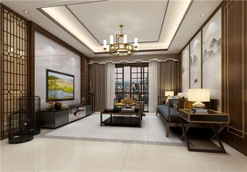 不到100m²的户型住所,这款中式风格是否正中你的下怀?