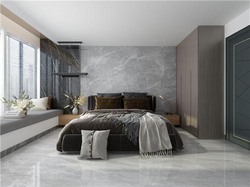 欧神诺陶瓷:108m²的现代居室,一家四口用刚刚好