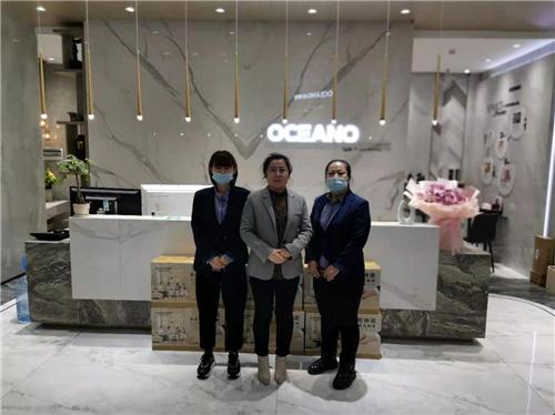 专访宝清欧神诺陶瓷柳丽华,做好服务才能赢得客户信赖