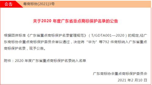 喜讯 | 裕成瓷砖纳入2020年度广东省重点商标保护名录!