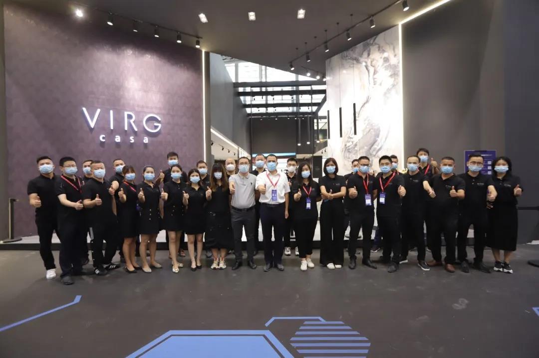 """【中陶君探展】""""所见即所得""""的岩板全案就在广州建博会VIRG CASA!"""