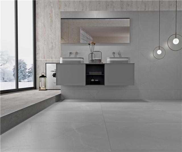 强牌缎光釉现代瓷砖,给你一个高颜值的家