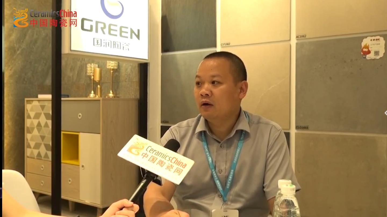 国润企业营销总经理黄五平陶博会专访