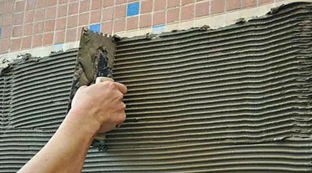 粘瓷砖用什么胶如何施工好?