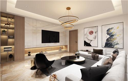 刚柔相济,设计师谢美金的气质型现代家居设计
