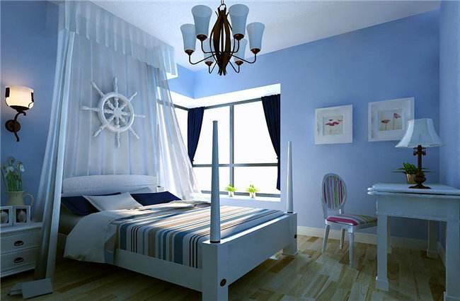 藍色裝修房間效果圖怎么樣?效果好不好?