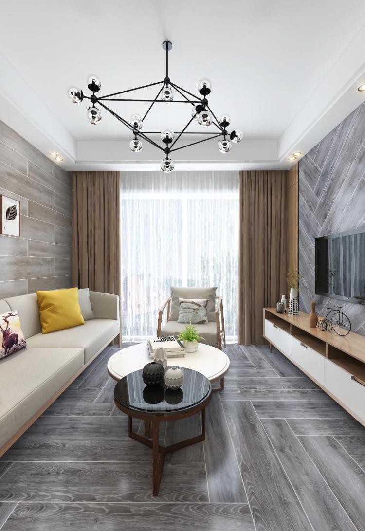 木诗伦瓷木7大尺寸木纹砖,铺贴效果太美了!
