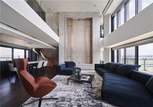 台北复式私宅设计,独居生活就很高级化